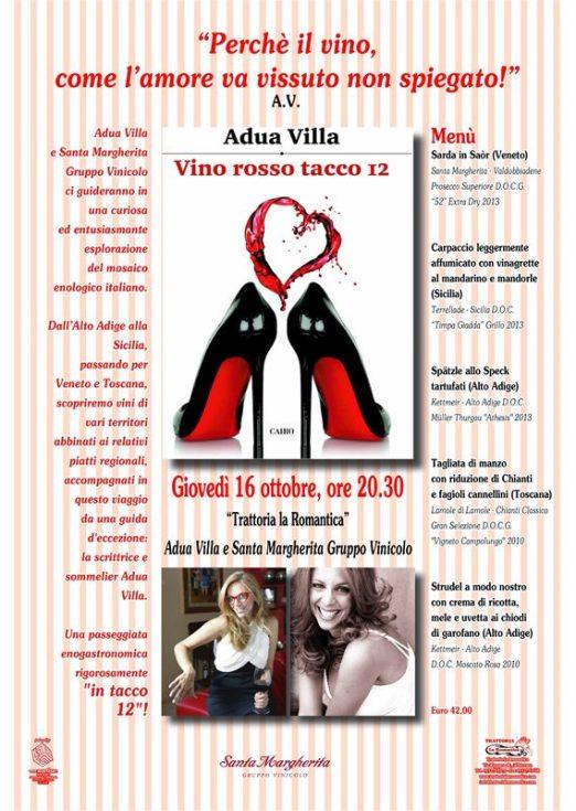 romantica tacco 12 menu 1014